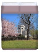 Springtime At The Botanical Garden Duvet Cover