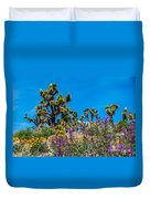 Springtime At The Canyon Duvet Cover