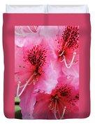 Springtime Azalea Duvet Cover