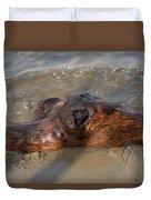 Springtime Driftwood Duvet Cover