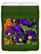 Springtime Fire Duvet Cover