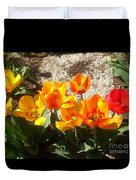 Springtime Flowers Duvet Cover