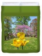 Springtime In Bridgeton Missouri Duvet Cover