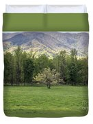 Springtime In Cades Cove Great Smoky Mountains National Park Duvet Cover