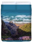 Springtime In Cornwall Duvet Cover
