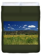 Springtime In Hat Creek Duvet Cover
