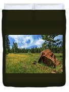Springtime In Lassen County Duvet Cover