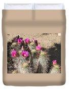 Springtime In The Desert Duvet Cover