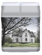 Springtime Ledge Homestead-bicolor Duvet Cover