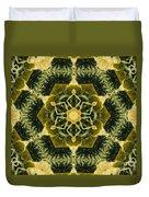 Springtime  Mandala Duvet Cover