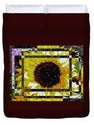 Springtime Mosaic Duvet Cover