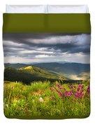 Springtime Mountain Duvet Cover