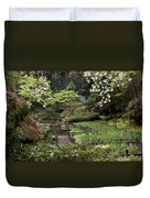 Springtime Walkway Duvet Cover