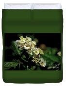 Sprinkles On Lantana Flower Duvet Cover