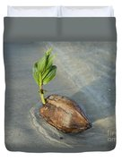 Sprouting Coconut Duvet Cover
