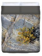 Sprouting Rock Duvet Cover