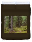 Spruce Forest  Duvet Cover