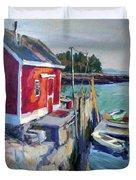 Spruce Head Island, Maine Duvet Cover