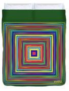 Square Shadings Duvet Cover