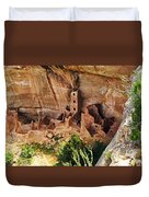 Square Tower Overlook - Alcove Dwellers Duvet Cover