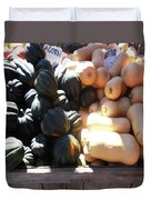 Squash At Market Duvet Cover