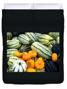 Squash Harvest Duvet Cover by Will Borden