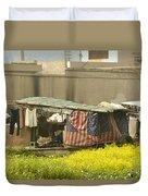 Squatters Homes Duvet Cover