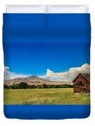 Squaw Butte And Little Butte Duvet Cover