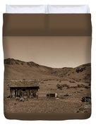 Squaw Butte Homestead Duvet Cover