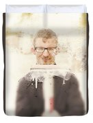 Squeaky Clean Window Washer Duvet Cover