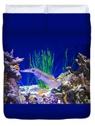 Squid In Monterey Aquarium-california Duvet Cover