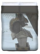 Squirrel Chilling Out Duvet Cover