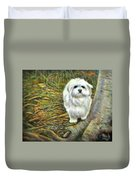 Squirrel In Its Mind Duvet Cover