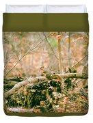Squirrel In The Woods  Duvet Cover