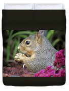 Squirrel - Morning Snack 02 Duvet Cover