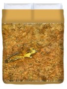 Squirrel On The Ground Duvet Cover