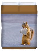 Squirrel Sandwich Duvet Cover