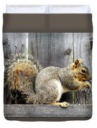 Squirrel - Snack Time Duvet Cover