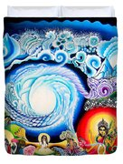 Sri Hridaya Darpana-the Mirror Of The Heart Duvet Cover