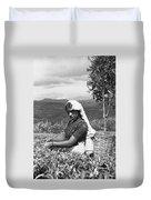 Sri Lanka Tea Plantation Duvet Cover