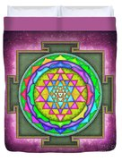 Sri Yantra - Artwork 7.5 Duvet Cover