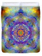 Sri Yantra Light Duvet Cover