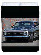 Ss On Autocross Course Duvet Cover