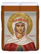 St. Abigail - Jcabi Duvet Cover