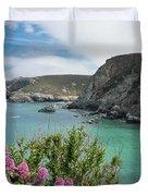 St Agnes Coast Duvet Cover