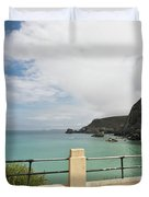 St Agnes To Holywell Duvet Cover