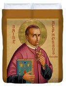 St. Alphonsus Liguori - Jcalp Duvet Cover