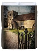 St Andrews At Chaddleworth Berkshire Duvet Cover