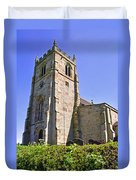 St Andrew's Church At Cubley In Derbyshire Duvet Cover