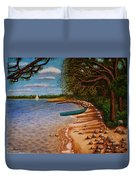 St Andrews State Park Panama City Florida Duvet Cover